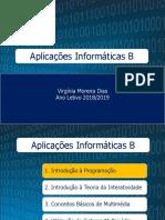 AULA 1 - Algoritmia1