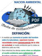 Contaminacion Ambiental- Taller de Desastres