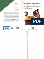 Roudinesco, Elisabeth. El paciente el terapeuta y el estado..pdf