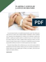 MUERTE ASISTIDA Y AUSENCIA DE LEGISLACIÓN EN MUCHOS PAÍSES