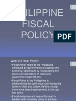59670314 Philippine Fiscal Policy