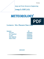 Assignment Meteorology