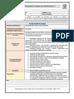 Ficha de Planejamento Diário Jane