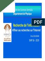 1-Pre Sentation Recherche Informations [Mode de Compatibilité]