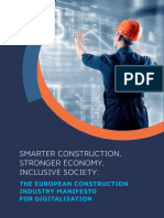2018-06-11 the European Construction Industry Manifesto on Digital Construction- A4