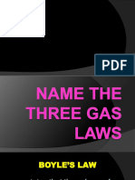 Ppt for Combined Gas Law