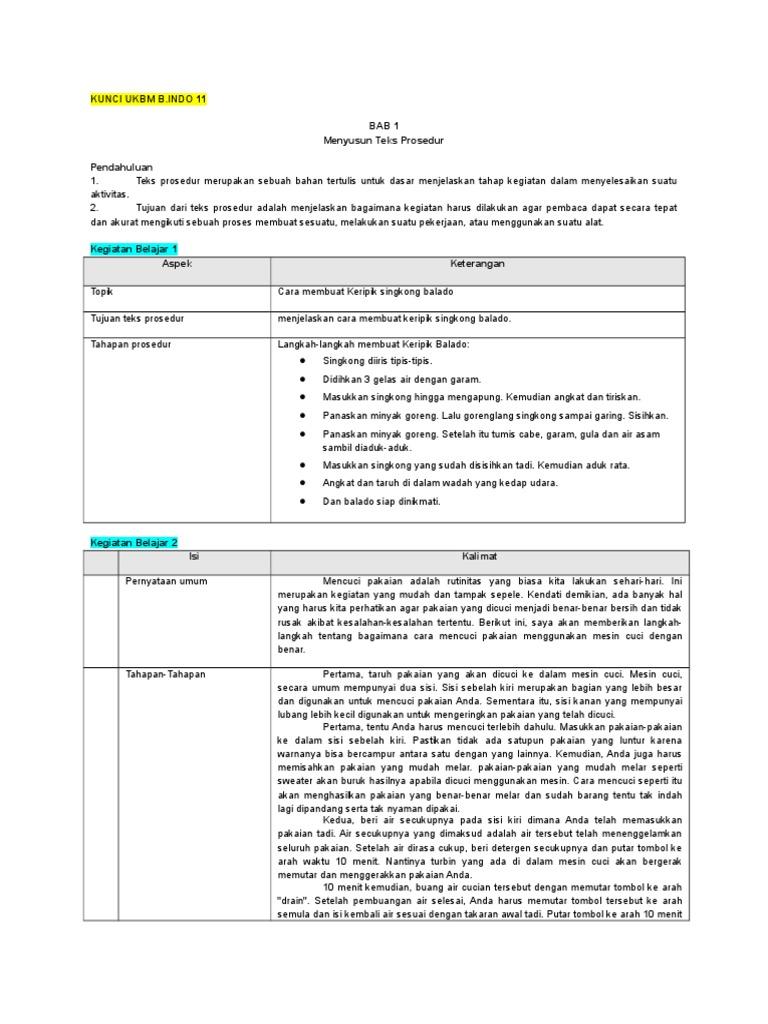 Langkah Langkah Dalam Menyusun Teks Prosedur - Terkait Teks