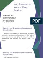Humidity and Temp Measurement