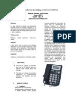 Práctica 1  Mediciones de voltaje y corriente en el teléfono  Gabriel Orlando Ortiz Zárate  40073.pdf