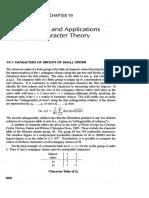 19 - Ejemplos y Aplicaciones de Character Theory Dummit-And-Foote-PDF