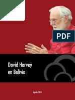 David Harvey en Bolivia Agosto de 2014 Vicepresidencia Del Estado (1)