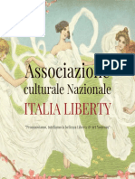 Brochure Associazione ITALIA LIBERTY