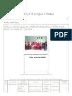 Manusa Kertajati Majalengka _ Model Rencana Kegiatan Pengembangan Anak Usia Dini Holistik Integratif