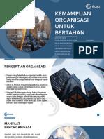 Kemampuan Organisasi Untuk Bertahan