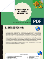 Auditoria de Gestion Ambiental