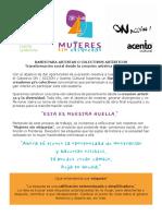 Bases Mujeres sin etiquetas 2019