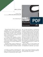 Hamlet y la ley del padre