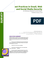 Best Practices in Email, Web and Social Media Security (RSCH_0204)