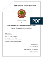 Sector Regulators and Competition Commission of India Final