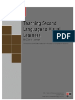 0009 Visual Learner and Second Language Acquisition