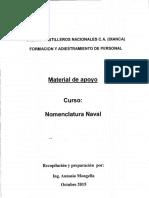 Nomenclatura Naval (Material de Apoyo)