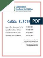 Carga Electrica Informe 1