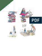 ilustraciones Matilda