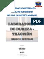 INFORME DE DUREZA Y TRACCIÓN.docx