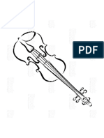 Dibujo Violin