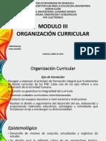 PNF - Orientacion y Acreditacion  Modulo III - ORGANIZACION CURRICULAR.pptx