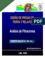 DISENO DE PRESAS DE TIERRA Y RELAVES