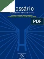 Glossario Do Desenvolvimento Territorial