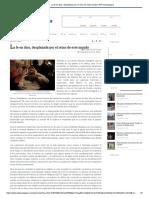 Del Castillo, Agustín (2019) La Fe en Dios, Desplazada Por El Reinon de Este Mundo (NOTA)