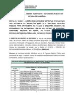 Edital 05 - Inscries Deferidas Definitivas