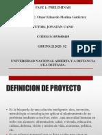 Proyecto de Ingenieria Fase 1 OMAR MEDINA GUTIERREZ