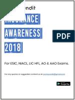 Insurance Awareness PDF 2018 - Downloaded from exampundit.in.pdf