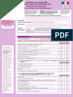 Questionnaire Fonction Publique
