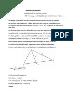 La Existencia Del Triangulo