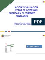 Presentación Formato Senplades Mayo 2015