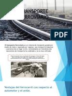 transporte ferroviaria