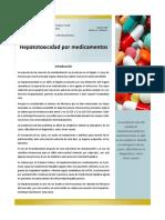 Hepatotoxicidad Por Medicamentos