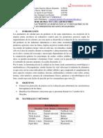 Evaluación de Las Caracteristicas Morfológicas y Fisicoquímicas de La Guayaba