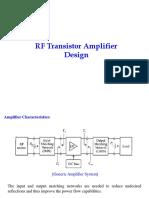 Lecture 2 RF Amplifier Design