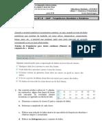 03B - Ficha de Estatistica