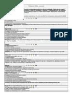 professional attributes assessment student version