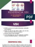 RESISTENCIA VIH