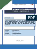 estudio de mecanica de suelos  CCAHUANAMARCA SANEAMIENTO.pdf