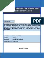 estudio de mecanica de suelos  Chicchipampa Saneamiento.pdf