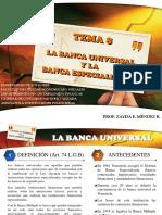 TEMA 8. LA BANCA UNIVERSAL Y ESPECIALIZADA.ppt