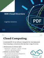 IBM Cloud Overview